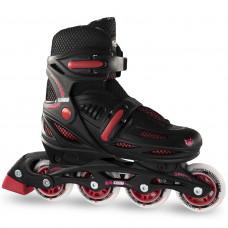 Crazy 148 Adjustable Inline Skate - Black/Red