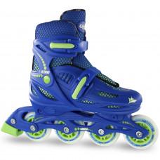 Crazy 148 Adjustable Inline Skate - Blue