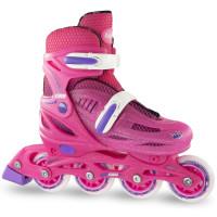 Crazy 148 Adjustable Inline Skate - Pink Glitter