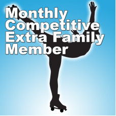 Competitive Pass - Extra Family Member (Monthly) Increasing to $40 June 1st.