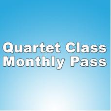 Quartet Lessons - Monthly Pass