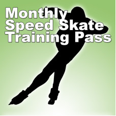 Speed Skating Pass - Monthly