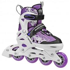 Stryde Purple/White Adjustable Inline Skates