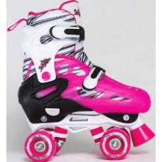 Starfire 300 Adjustable Rollerskate - Pink